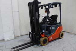 Vysokozdvižný vozík produkt dny použité techniky 1